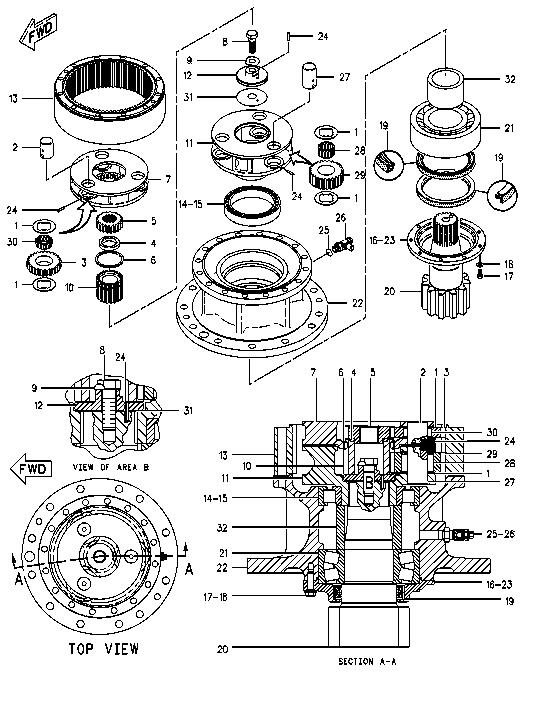 John Deere 544c Transmission Torque Converter Axle Differential Pla ary Parts moreover KF3000 further 635 6604 K Metalli Koruk also Tube D Enroulement Volet Roulant Zf54 1 5m likewise Adaptador Para Copeland Scroll ZB ZF Y ZS 3 4 X 14 NPTF OMB ACA 12056. on zf tel